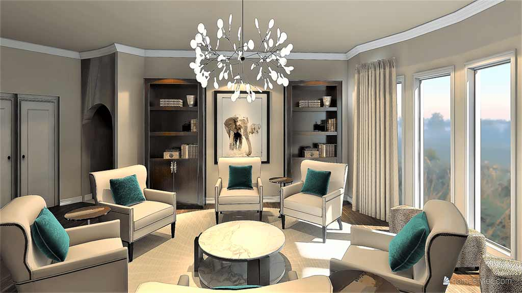 Conversation Room Interior Design