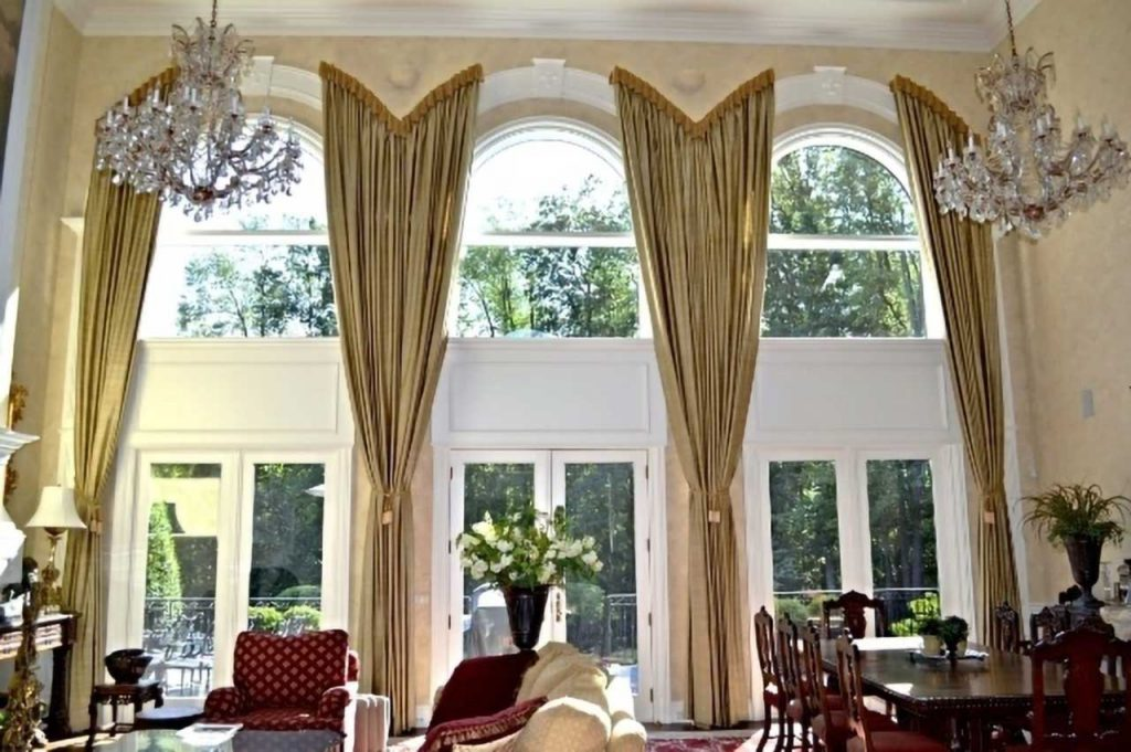 Two Story Draperies